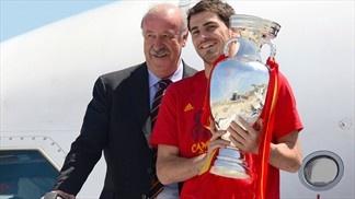 Vicente del Bosque & Iker Casillas