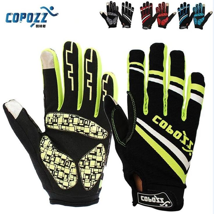 6.99$  Buy here - Copozz Brand New Gel Full Finger touch screen bike cycling gloves anti-skip shockproof breathable bicycle MTB sports gloves   #buychinaproducts