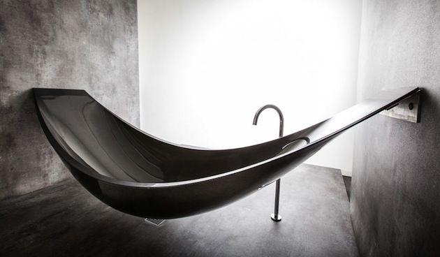 Limited Edition Floating Carbon Fiber 'Vessel' Bathtub