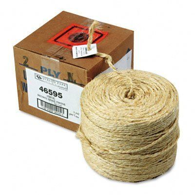 Quality Park 46595 Brown Sisal Two-ply TWine, 1,500 feet by Quality Park. Save 17 Off!. $30.63. Brown, sisal two-ply  twine. Strongest twine of them all. Comes in a convenient box and offers you twine capable of handling the toughest jobs.