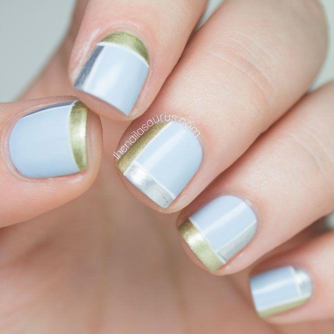 Pretty Painted Fingers & Toes Nail Polish| Serafini Amelia| #31DC2014 Day 8 // Metallic