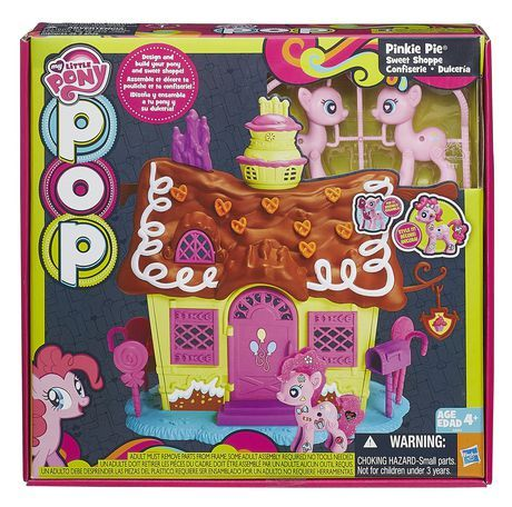 My Little Pony Pop Pinkie Pie Sweet Shoppe Playset for sale at Walmart Canada. Buy Toys online at everyday low prices at Walmart.ca