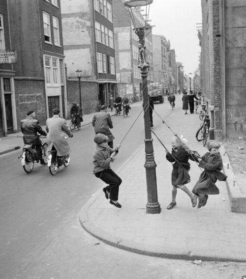 Dolf Kruger - Rapenburgerstraat, Amsterdam, 1956