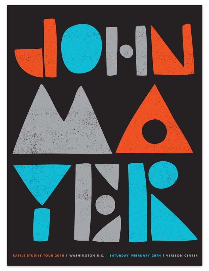 John Mayer Poster by Tad Carpenter