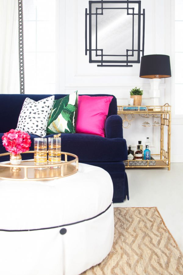 6 Ways to Update Your Decor with Pillows // As Featured on Style Me Pretty Living!