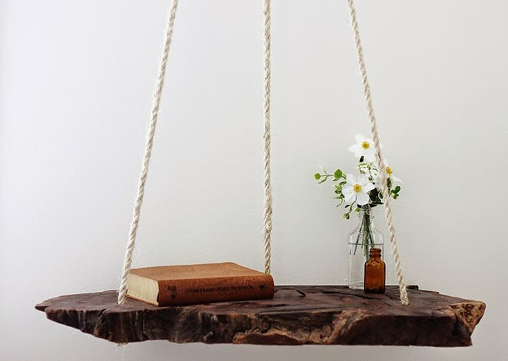 DIY : La Table De Chevet Suspendue