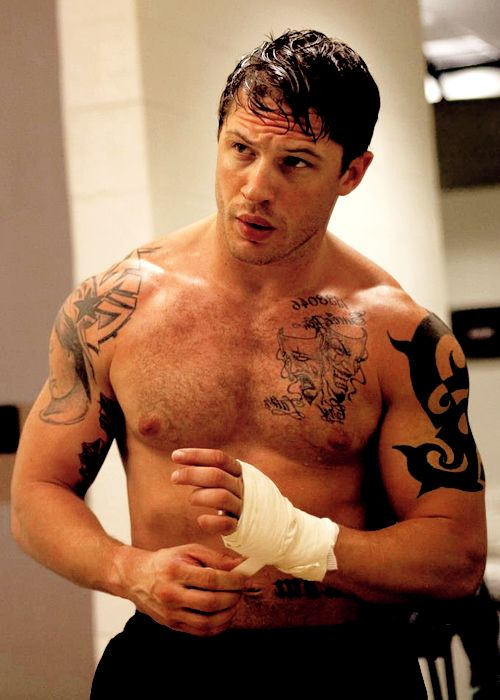Not gonna lie, I was totally crushing on Tom Hardy in Warrior