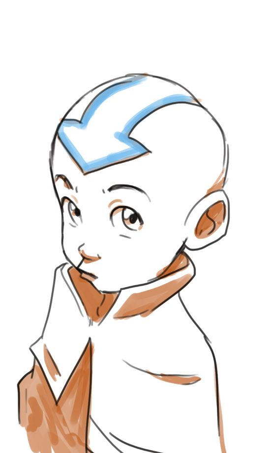 Aang by phildragash.tumblr.com