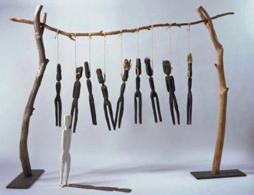 Fiona Foley. Indigenous Sculpture