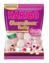 Haribo Chamallows Fruity et Rainbow Pik : Le macaron et l'Arc en ciel