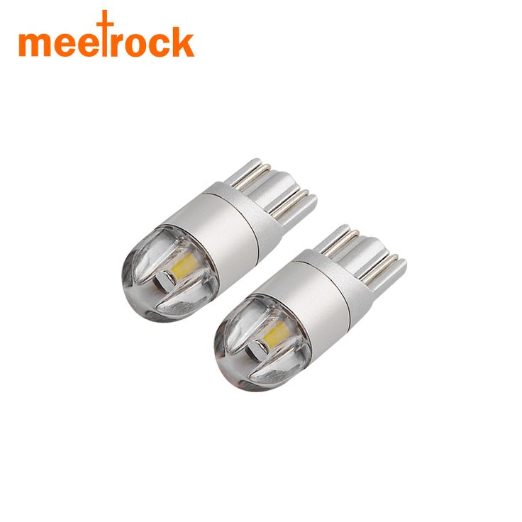 Meetrock 2 pcs T10 LED car light SMD 3030 marker lamp w5w 194 501 bulb wedge parking dome light canbus auto car styling 12v 24v -- Find similar products by clicking the image