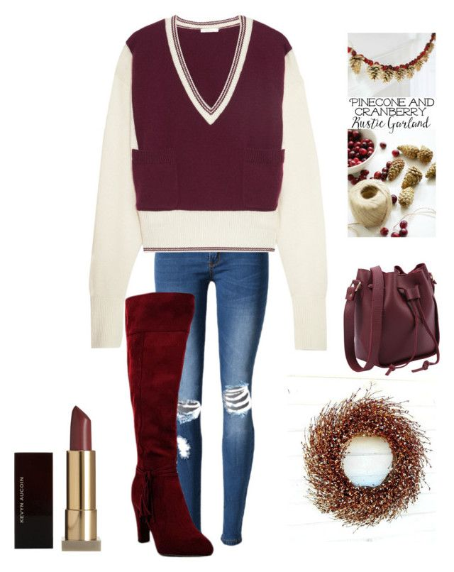 """""""Untitled #3221"""" by kotnourka ❤ liked on Polyvore featuring Chloé and Kevyn Aucoin"""