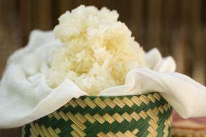 Como preparar Arroz glutinoso (Sticky rice)