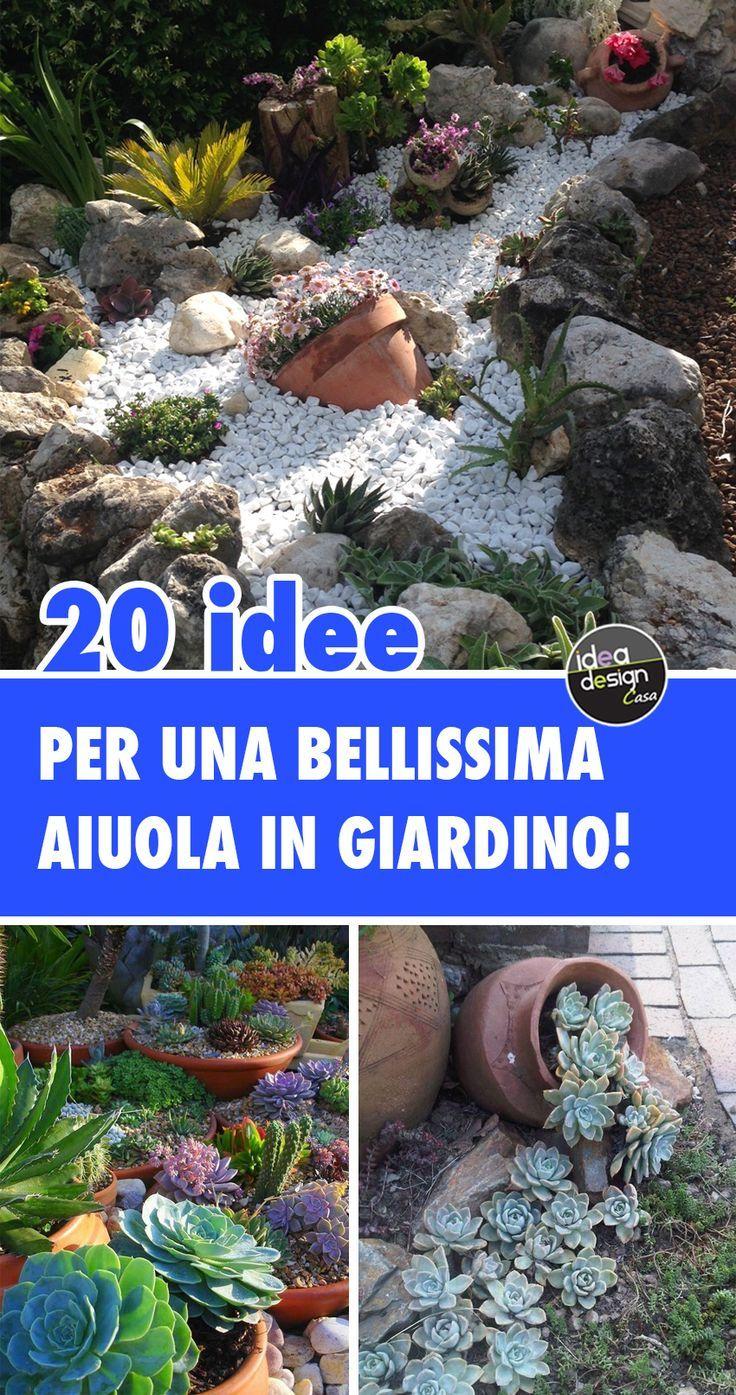 Fiori Tappezzanti Per Aiuole aiuole bellissime con piante grasse, sassi e pietre per un