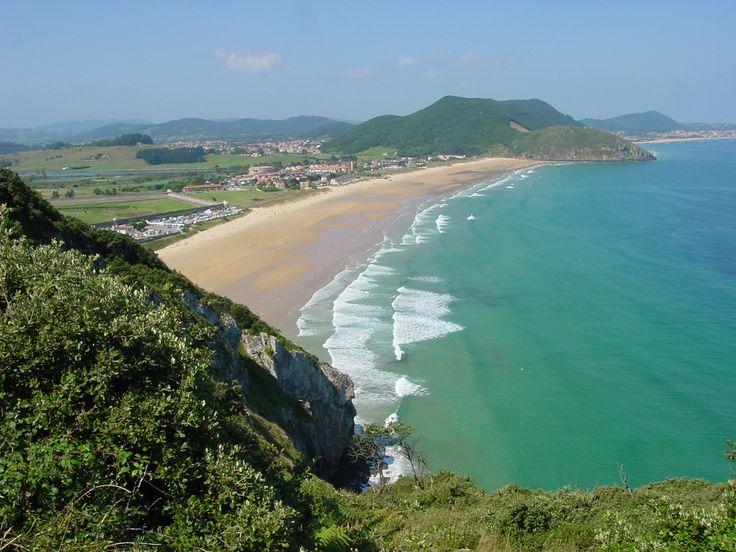 Playa de Berria  #Cantabria #Spain #Travel #Coast #Beach
