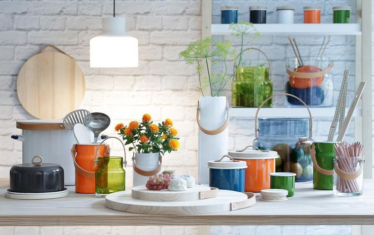 World of accessories:   Utility by LSA International, functional elegance from kitchen to table