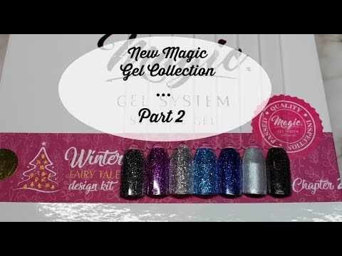 (297) Magic Gel System Winter Fairy Tale Design Kit : Chapter 2 - YouTube