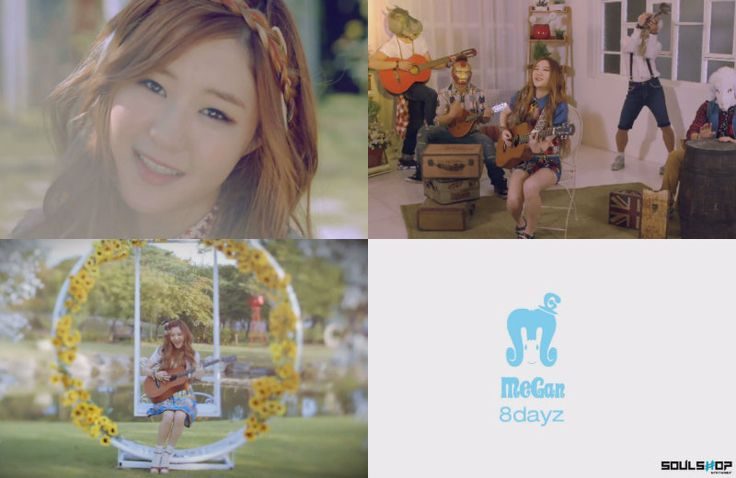 "YouTube Star Megan Lee Drops Debut Track ""8dayz"" Teaser feat. Beast's Yong Jun Hyung"