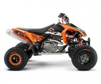 USED 2009 KTM 505 SX ATV FOUR WHEELER REVIEW