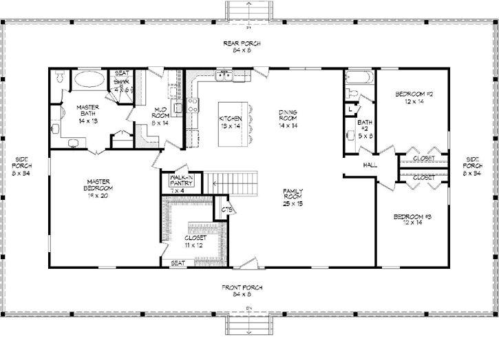 Main Floor Plan: 87-219