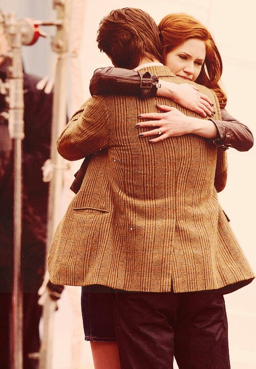 ) these two! Doctor who, 11th doctor, Karen gillan