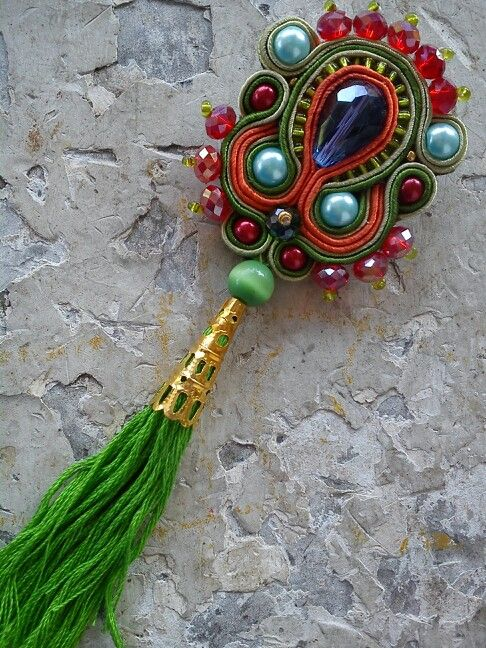 Rumbai india soutache by Vikkie