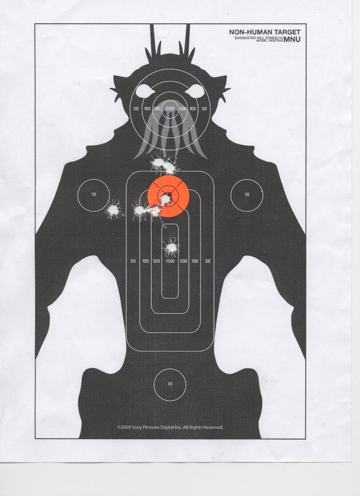 It's just a picture of Bewitching Printable Bb Targets