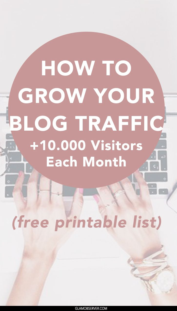 Strategies to grow your blog traffic every month , read more and DOWNLOAD THE…