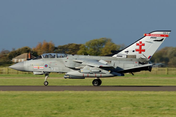 Royal Air Force Panavia Tornado GR4 ZA600 EB-G 41 R (TES) - RAF Coningsby