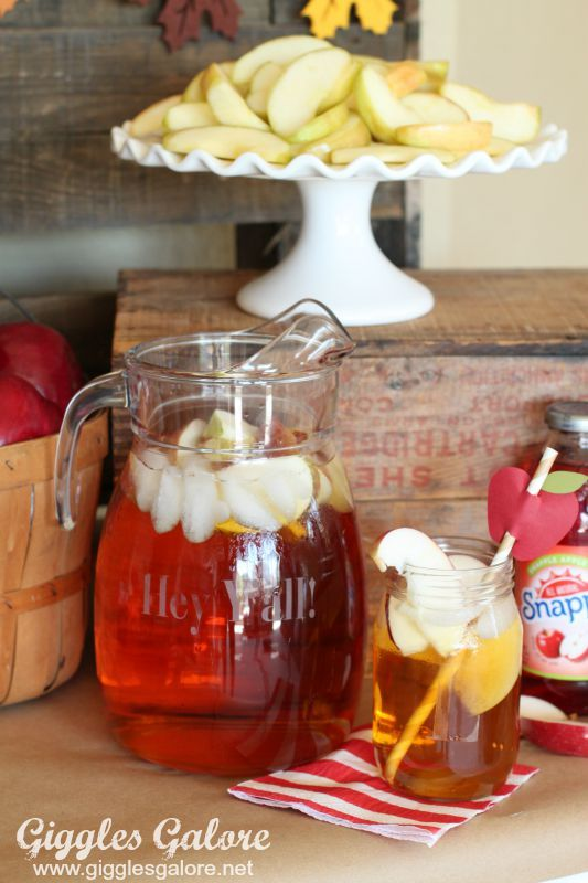 Fall Party: Candy Apple Bar