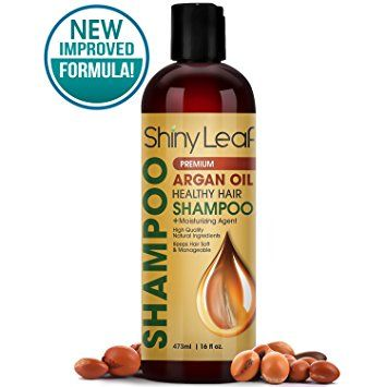 Shiny Leaf Argan Oil Healthy Hair Shampoo – Premium Anti Hair Loss Shampoo Treatment With Argan Oil,… Review