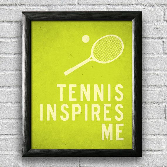 Funny Poster Gift For Her Printable Art Inspirational: 25+ Best Inspirational Tennis Quotes On Pinterest