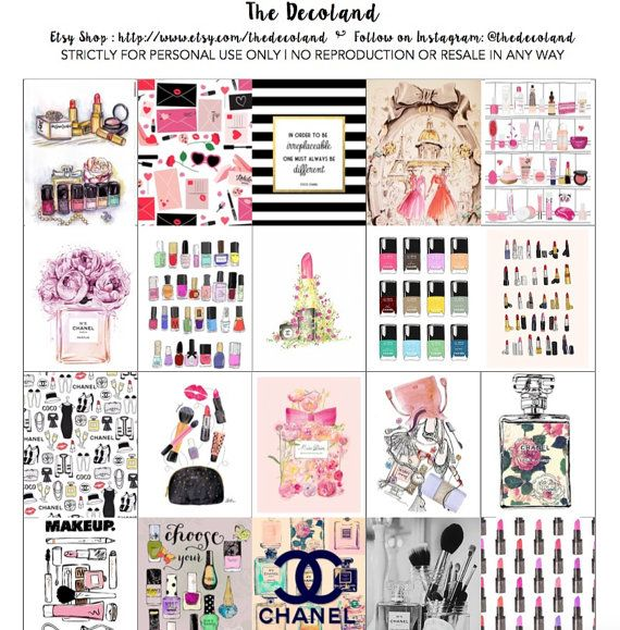 25+ best ideas about Chanel stickers on Pinterest | Make ...