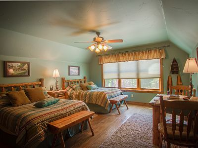 """Vacation rental in Bigfork, MT  """"Lady of the Lake"""" theme http://www.MysticMountainMontana.com"""
