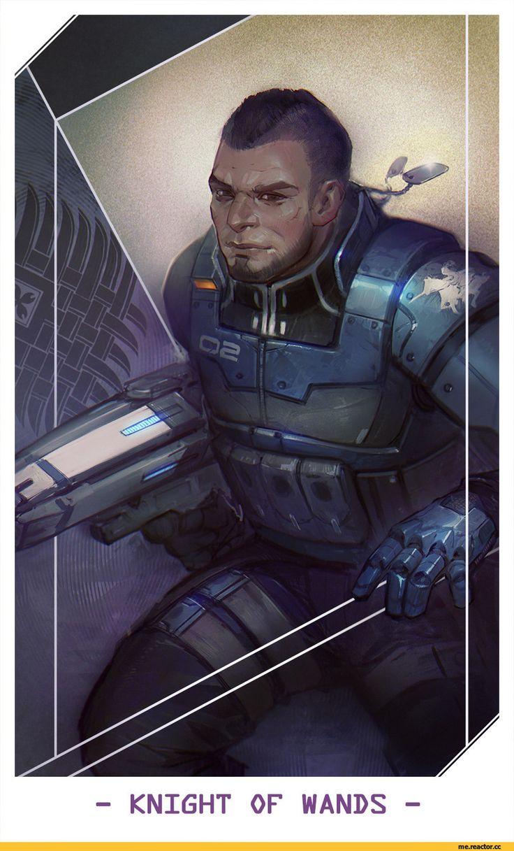 James Vega,ME персонажи,Mass Effect,фэндомы,Alteya,таро
