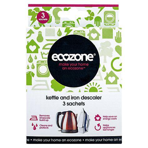 Buy Ecozone Kettle & Iron Descaler Online at johnlewis.com