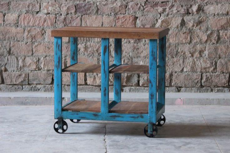 Hylla eller köksvagn med hjul