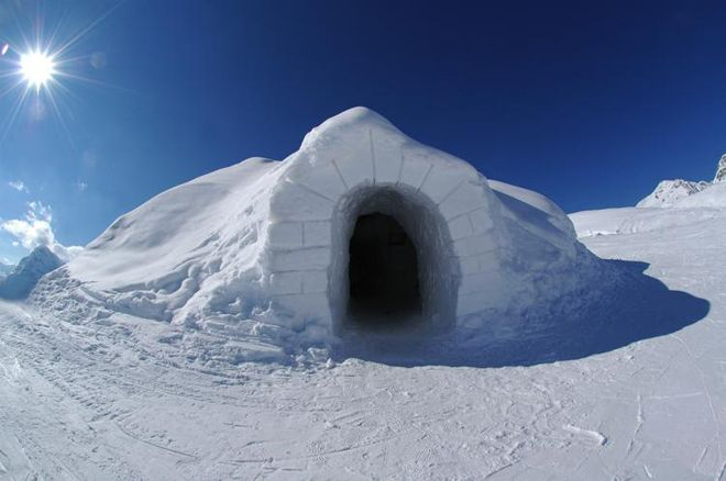 Iglu-Dorf, Switzerland