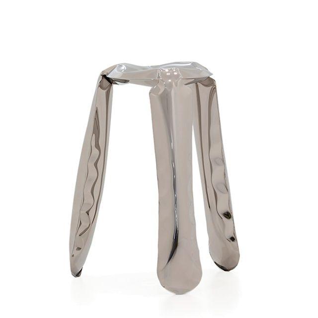 PLOPP kitchen Stool - Zieta  Kitchen version of PLOPP stool, as well as standard version, connote with a toy.