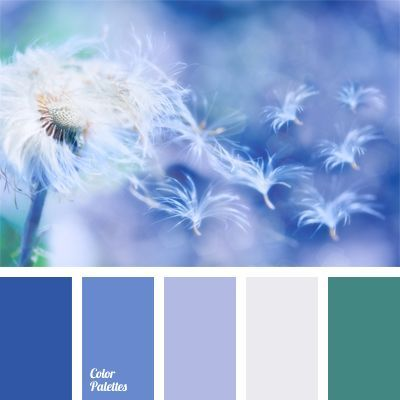 This monochrome dark blue colour palette is diluted with shade of emerald and exactly this colour solution will look advantageous in a bedroom..