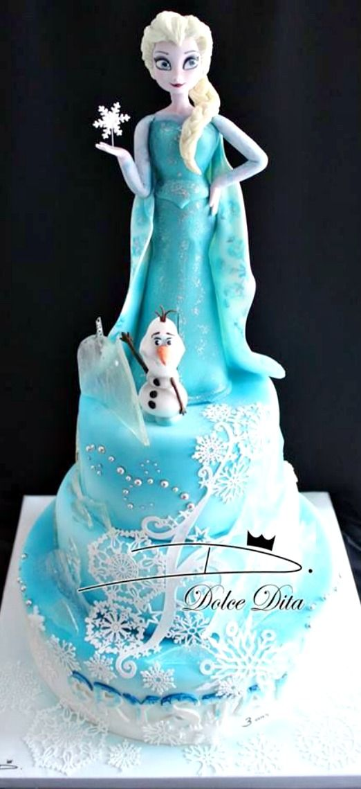 Frozen Cake-how about this?? Lol @ashley_berra