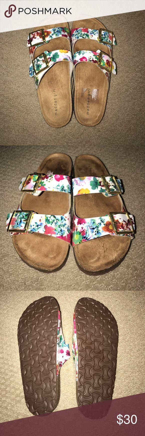 Madden Girl Birkenstocks Floral Madden Girl Birkenstocks Steve Madden Shoes Sandals