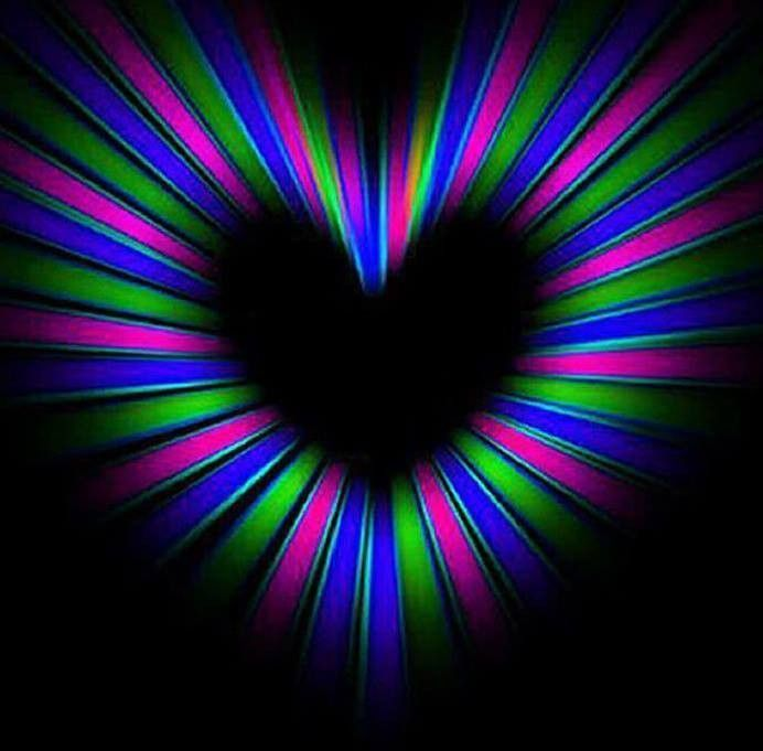 Fractales heart art