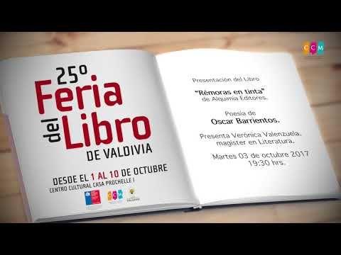 FERIA DEL LIBRO DE VALDIVIA 25º  EXTRACTO 2017