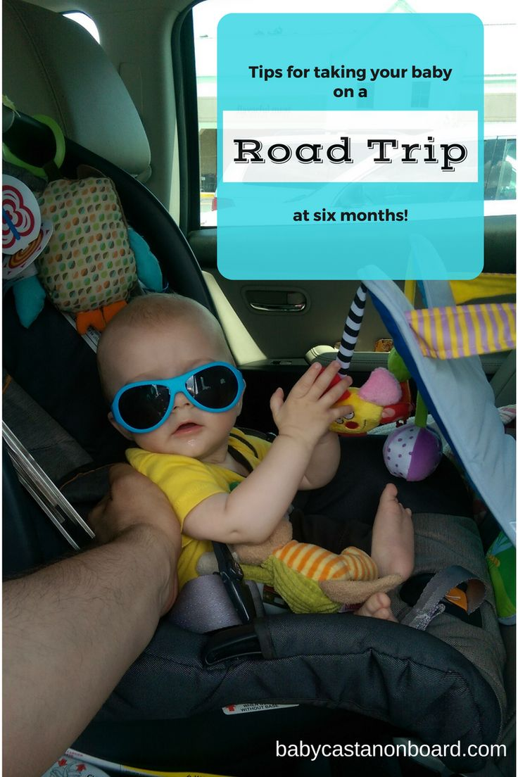 We did a road trip with our baby at six months. We found several useful tips and tricks to make the seven-hour road trip with a six month old bearable.