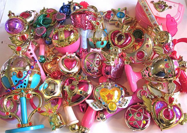 Sailor Moon group shot by chelseacandy What I want part of my collection to look like one day.