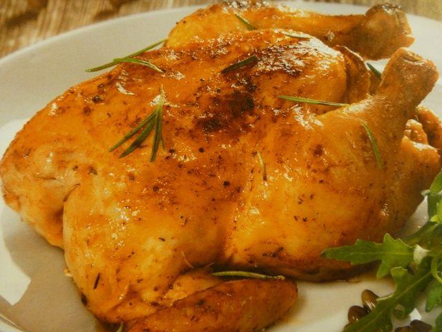 Poulet rôti cuisson à basse température