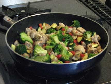 Weight Watchers Sweet and Sour Chicken Stir-Fry recipe – 4 points