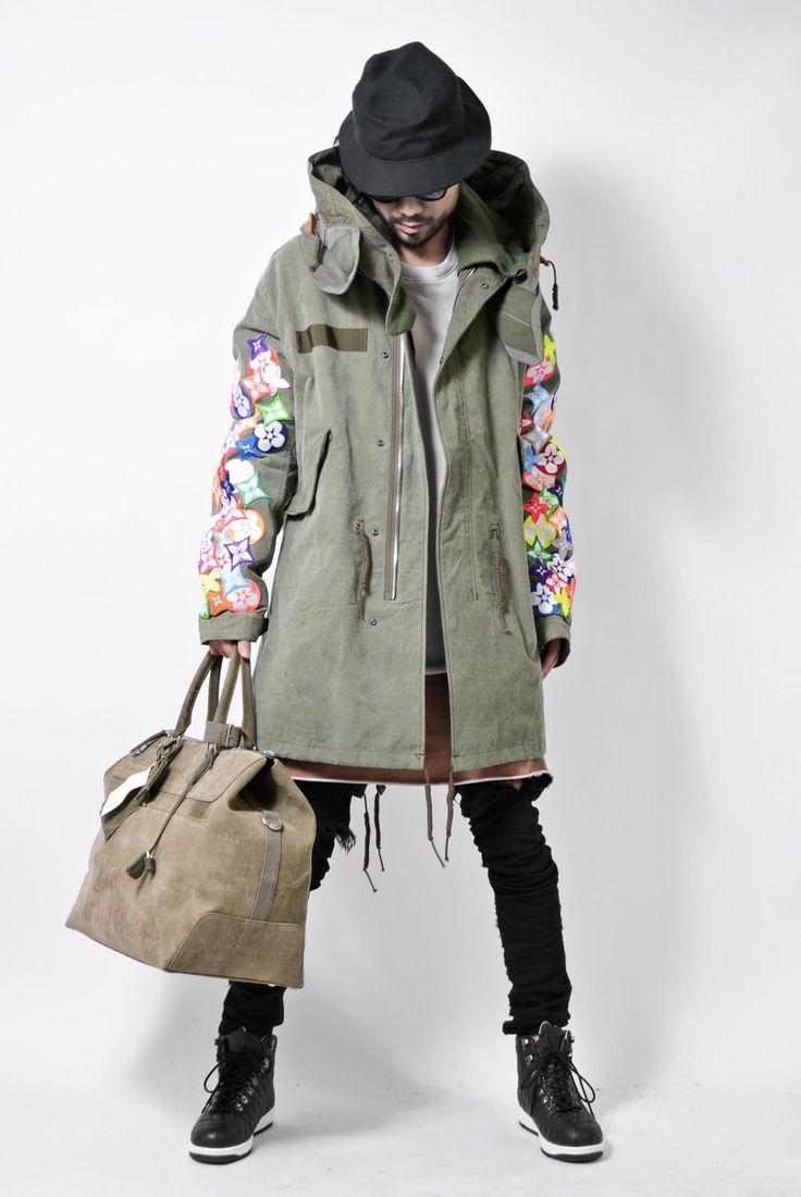 READYMADE - FISHTAIL PARKA - Wearling+Bag