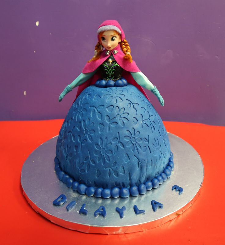 25 best Frozen cakes images on Pinterest Frozen cake Doll cakes